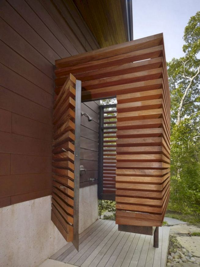 14 Gorgeous Modern Outdoor Shower Ideas For Best Inspiration 24