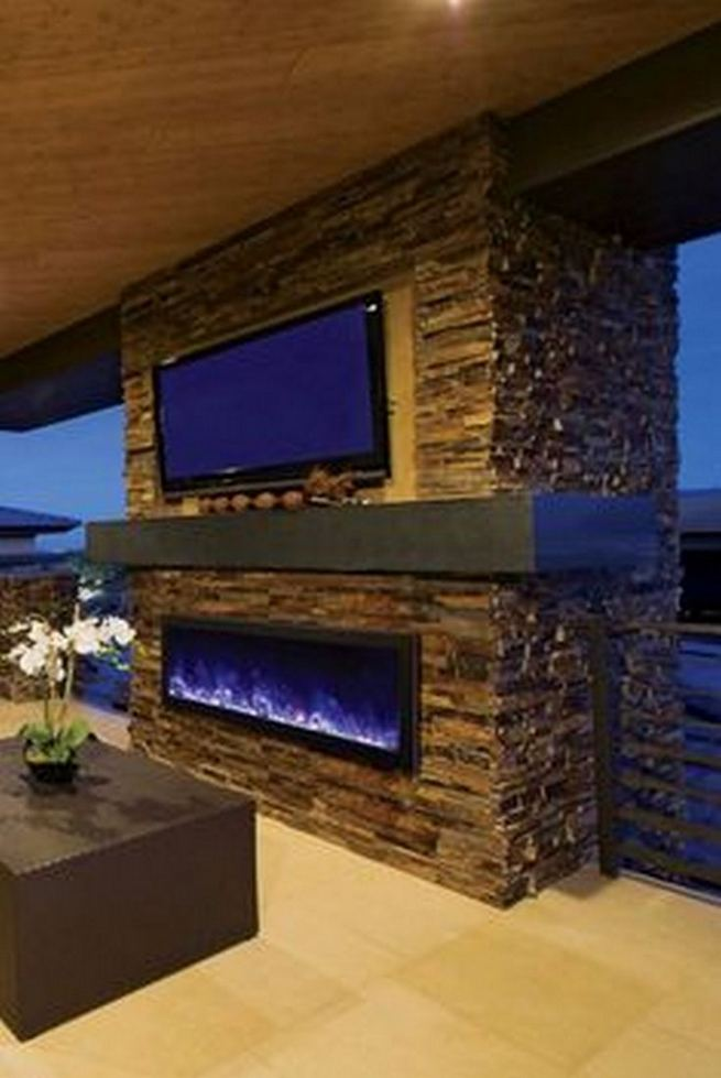 15 Amazing Outdoor Fireplace Design Ever 04