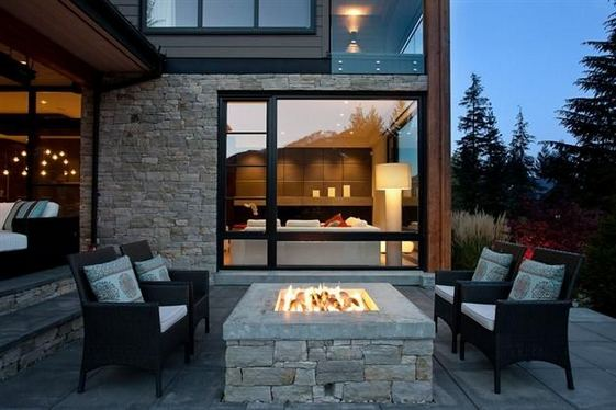 15 Amazing Outdoor Fireplace Design Ever 07