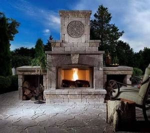 15 Amazing Outdoor Fireplace Design Ever 29