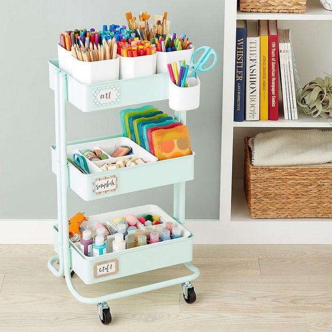 16 Creative Dorm Room Storage Organization Ideas On A Budget 19