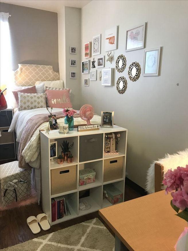 16 Creative Dorm Room Storage Organization Ideas On A Budget 26