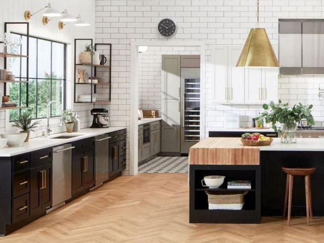 16 Gorgeous Kitchen Counter Organization Ideas Must Owned 14