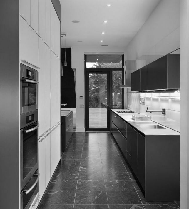 16 Luxurious Black White Kitchen Design Ideas 12