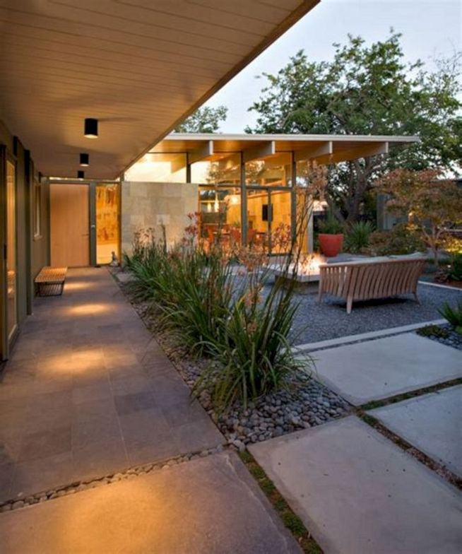 16 Most Beautiful Mid Century Modern Backyard Design Ideas 07