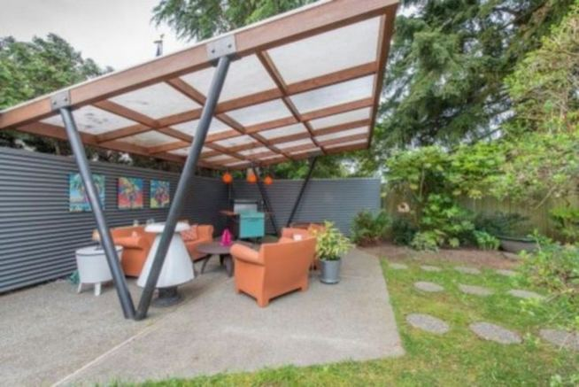 16 Most Beautiful Mid Century Modern Backyard Design Ideas 19