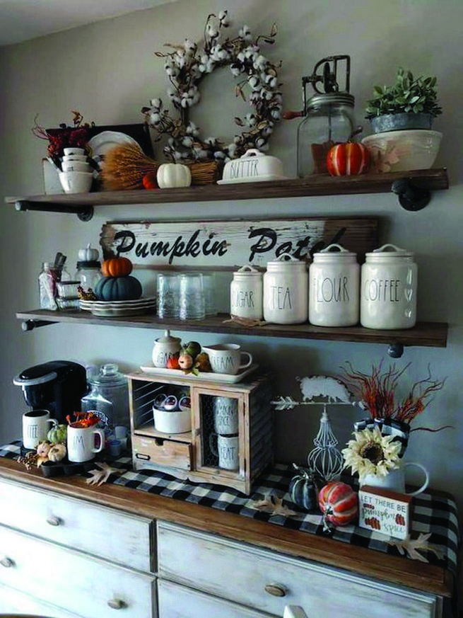 16 Stylish Home Coffee Bar Design Decor Ideas 32