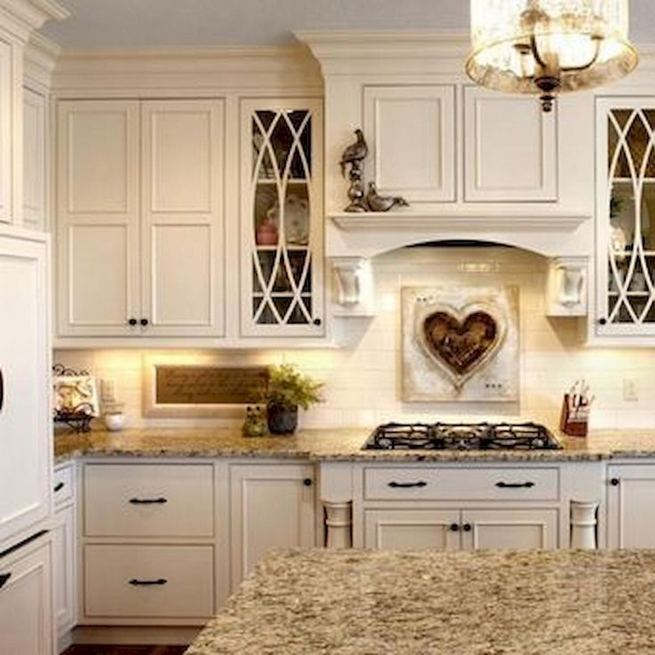 17 Inspiring Country Style Cottage Kitchen Cabinets Ideas 07