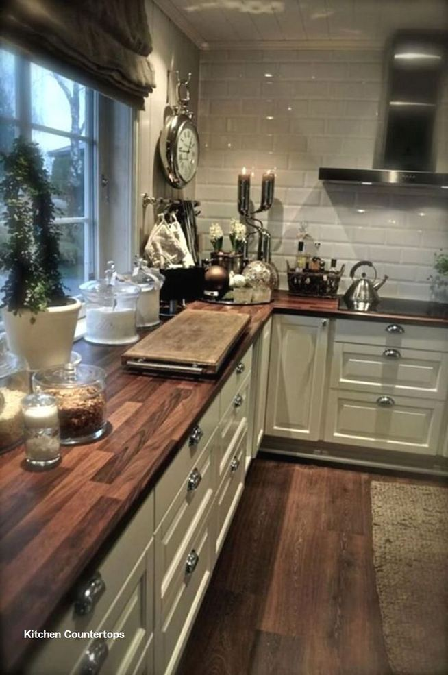 17 Inspiring Country Style Cottage Kitchen Cabinets Ideas 15