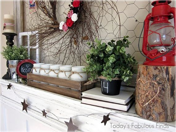 17 Inspiring Rustic Valentines Decor Ideas On A Budget 14