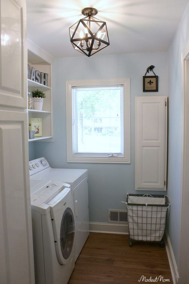 17 Top Cozy Small Laundry Room Design Ideas 04