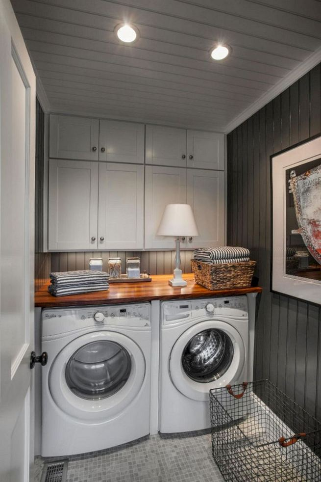 17 Top Cozy Small Laundry Room Design Ideas 05