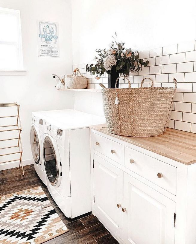 17 Top Cozy Small Laundry Room Design Ideas 23