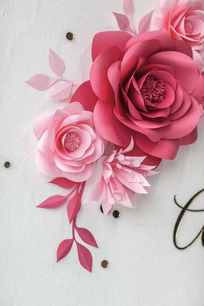 18 Beautiful Flower Wall Decor Ideas Creative Wall Decor Ideas 24