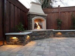 18 Gorgeous Outdoor Fireplaces And Patios Design Ideas For Your Backyard 36