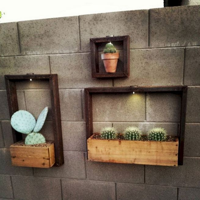 19 Charming DIY Wall Gardens Outdoor Design Best Ideas 34
