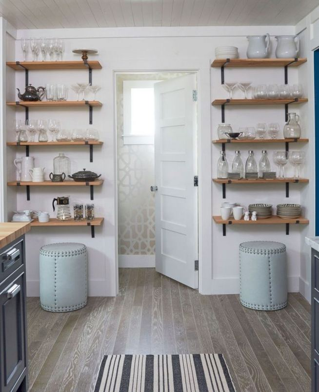 19 Clever Small Kitchen Remodel Open Shelves Ideas 31