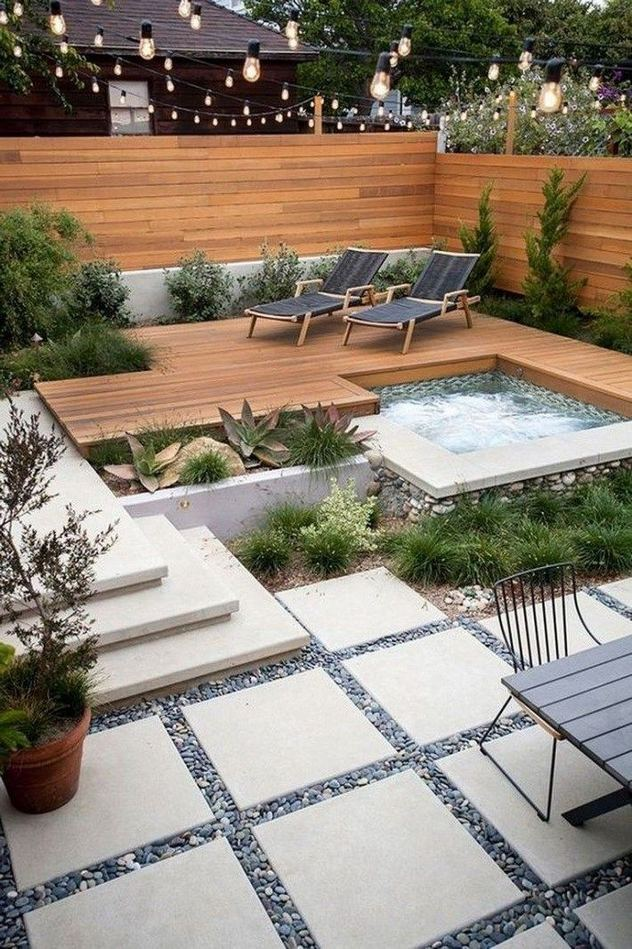 19 Fabulous Backyard Patio Landscaping Ideas 09