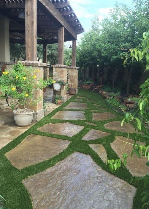 19 Fabulous Backyard Patio Landscaping Ideas 22