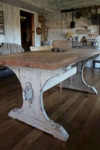 22 Elegant And Classic Rustic Furniture Design Ideas 07