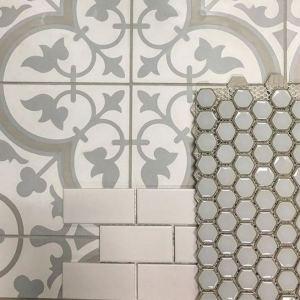 12 Beautiful Laundry Room Tile Pattern Design Ideas 15
