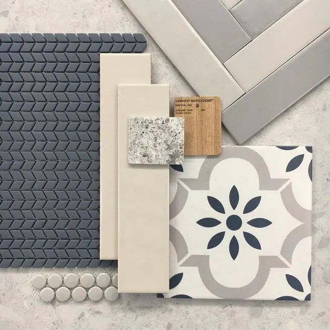 12 Beautiful Laundry Room Tile Pattern Design Ideas 21
