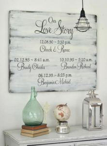 12 Incredibly DIY Wood Sign Ideas For Your Home Decoration 26