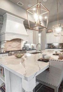 12 Stylish Luxury White Kitchen Design Ideas 11
