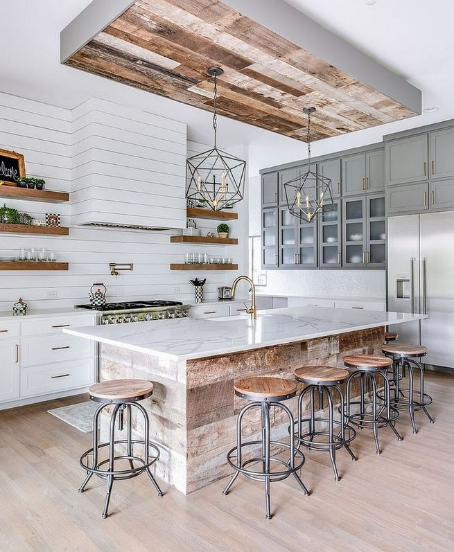12 Stylish Luxury White Kitchen Design Ideas 12
