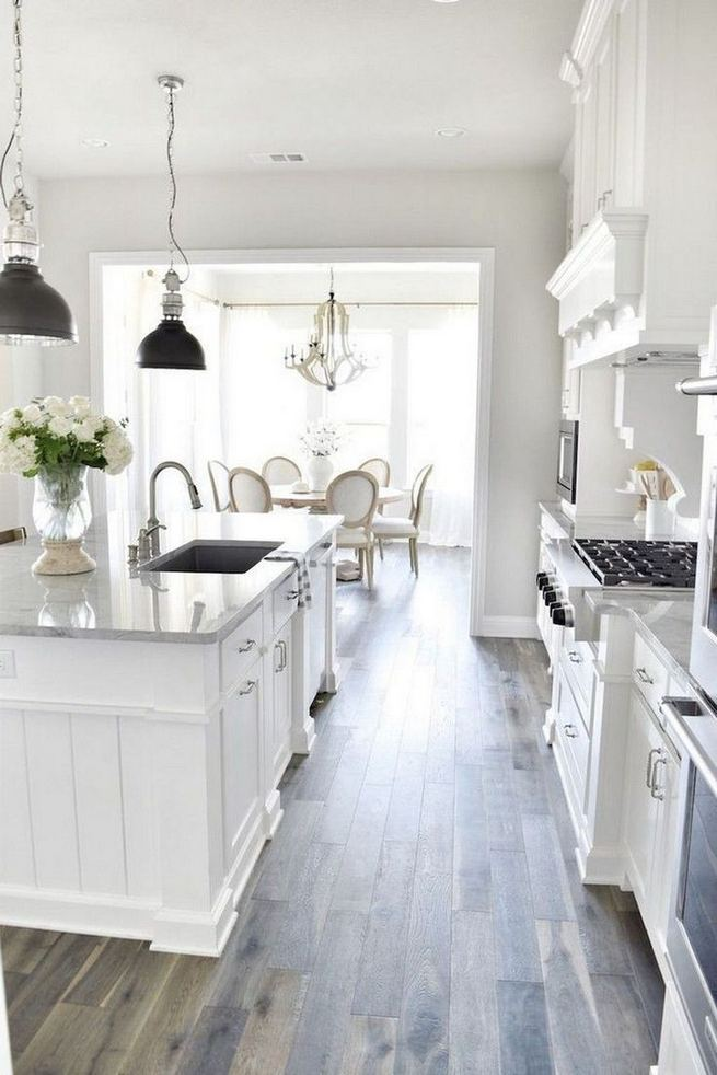 12 Stylish Luxury White Kitchen Design Ideas 14
