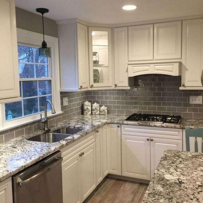 12 Stylish Luxury White Kitchen Design Ideas 23