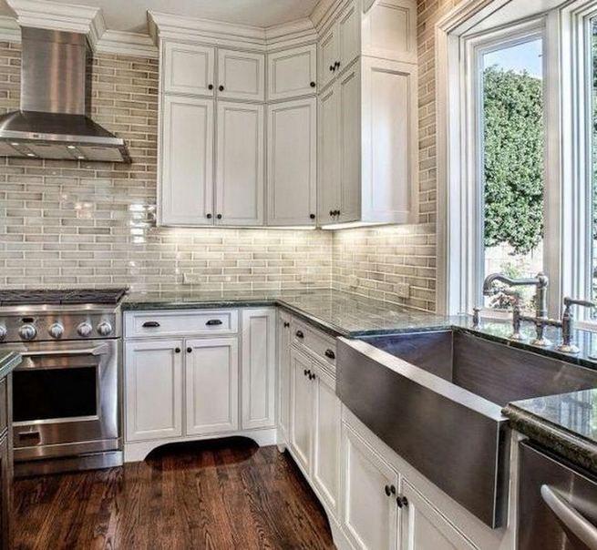 12 Stylish Luxury White Kitchen Design Ideas 30