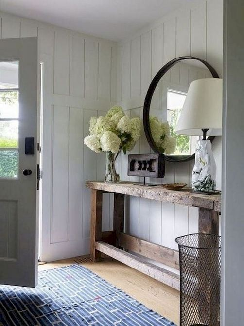 13 Amazing Farmhouse Entryway Decoration Ideas 12