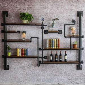 13 Creative DIY Pipe Shelves Design Ideas 04