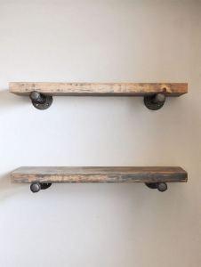 13 Creative DIY Pipe Shelves Design Ideas 14