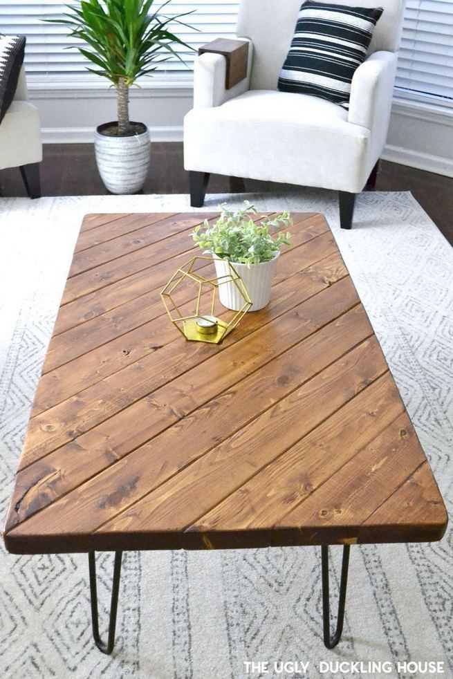 13 DIY Coffee Table Inspirations Ideas 14