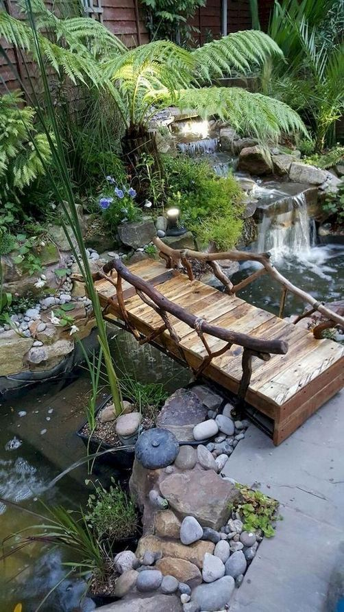 13 Gorgeous Backyard Pond Designs Ideas 15