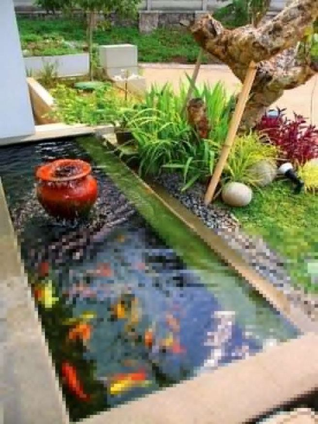 13 Gorgeous Backyard Pond Designs Ideas 27