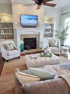 13 Inspiring Coastal Living Room Decor Ideas 26