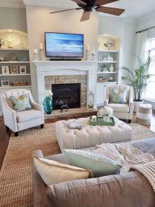 13 Inspiring Coastal Living Room Decor Ideas 26
