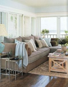 13 Inspiring Coastal Living Room Decor Ideas 29