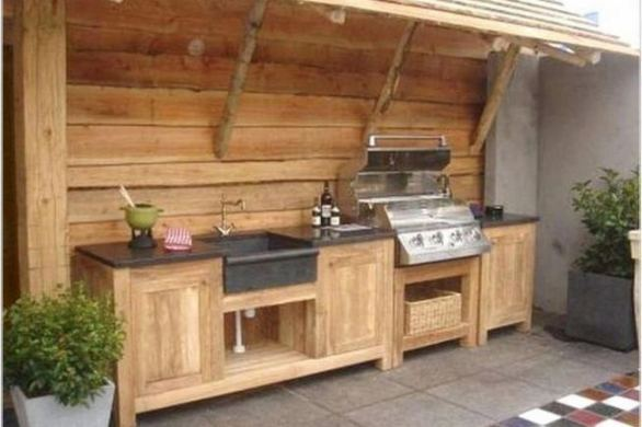 13 Totally Inspiring Outdoor Kitchens Design Ideas 27