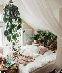 14 Brilliant Bohemian Bedroom Design Ideas 19