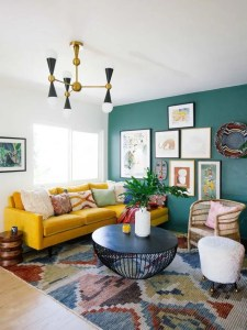 14 Cozy Bohemian Living Room Decoration Ideas 21