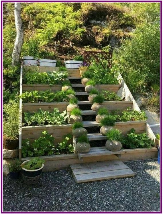 14 Simple Raised Garden Bed Inspirations Backyard Landscaping Ideas 16