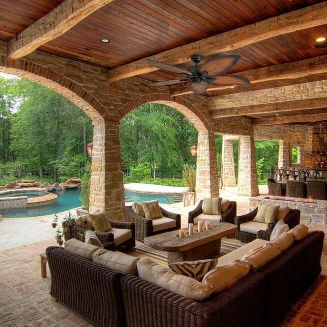 16 Cool Outdoor Spaces And Decor Ideas 13