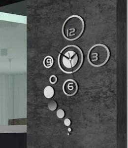 16 Cute Creative DIY Wall Clock Ideas For Kids Room 01