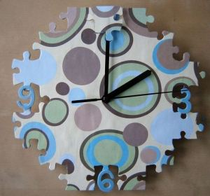 16 Cute Creative DIY Wall Clock Ideas For Kids Room 03