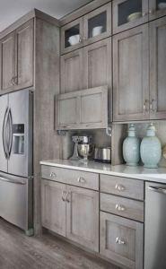 16 Modern Farmhouse Kitchen Cabinet Makeover Design Ideas 03