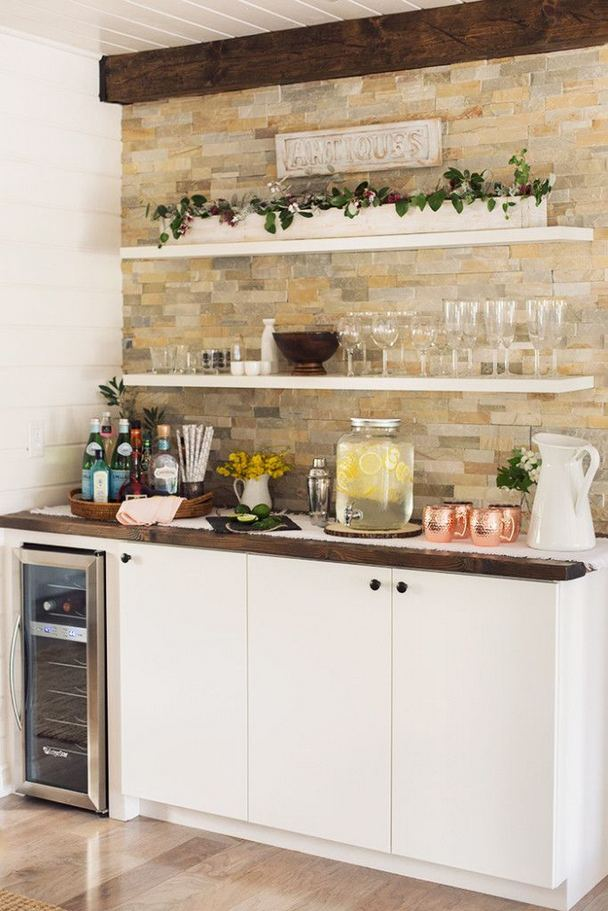 17 Easy DIY Mini Coffee Bar Ideas For Your Home 28